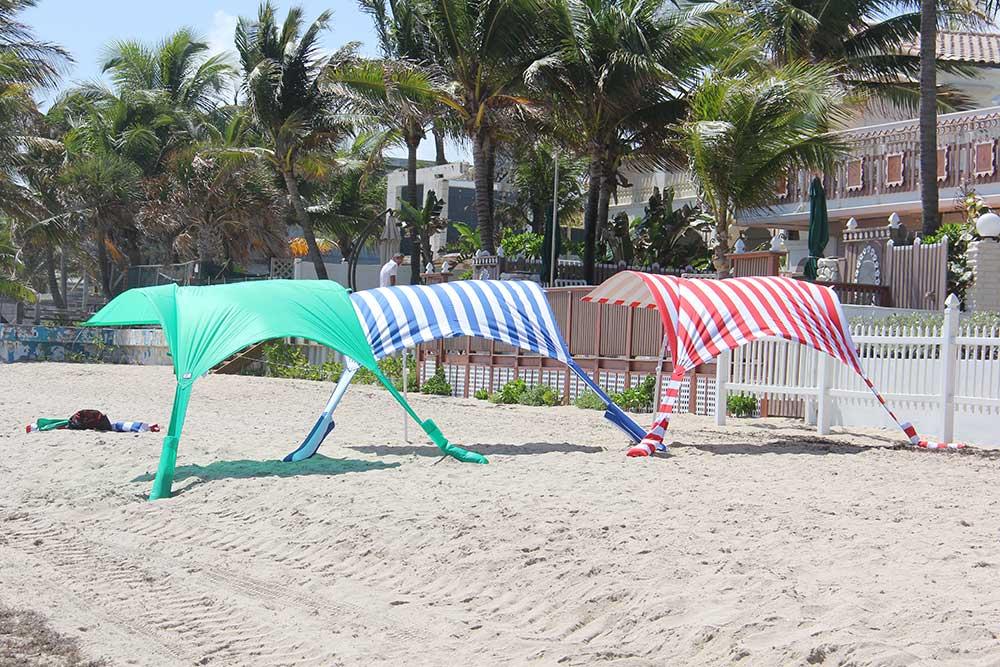 Not your grandmothers beach umbrella.