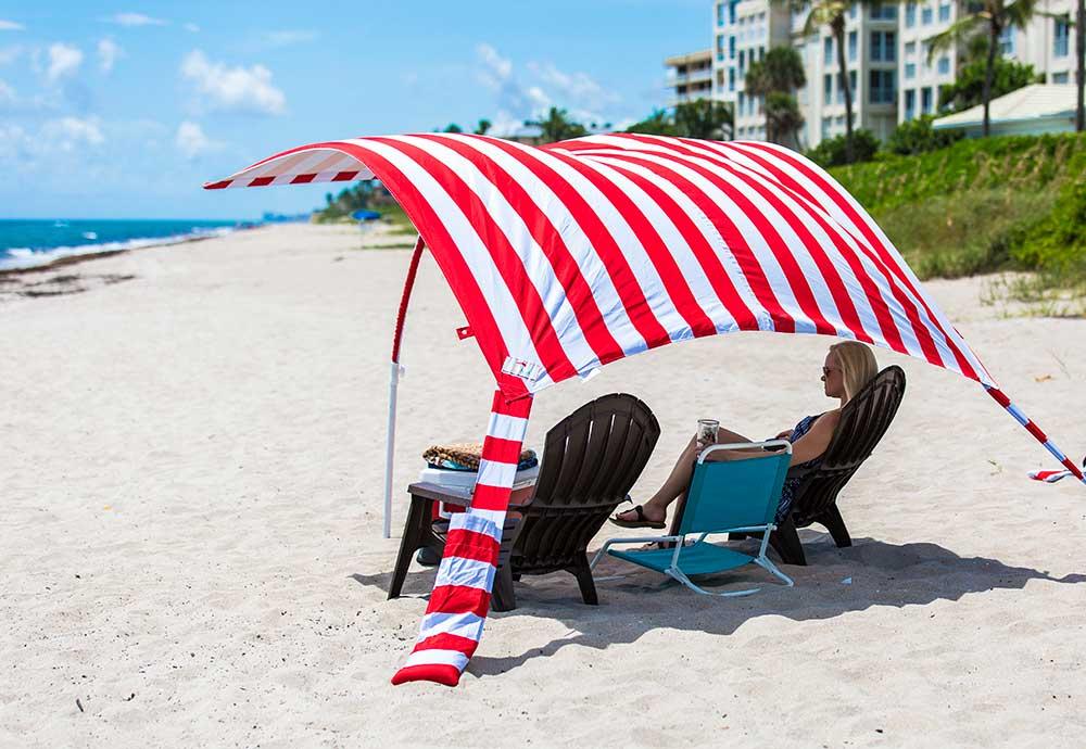 Sun Sail Cabana®, Not your grandmothers beach umbrella