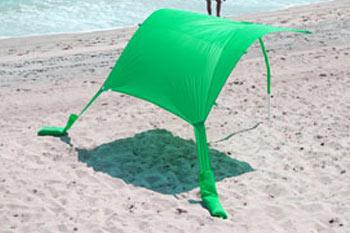 green sun shade