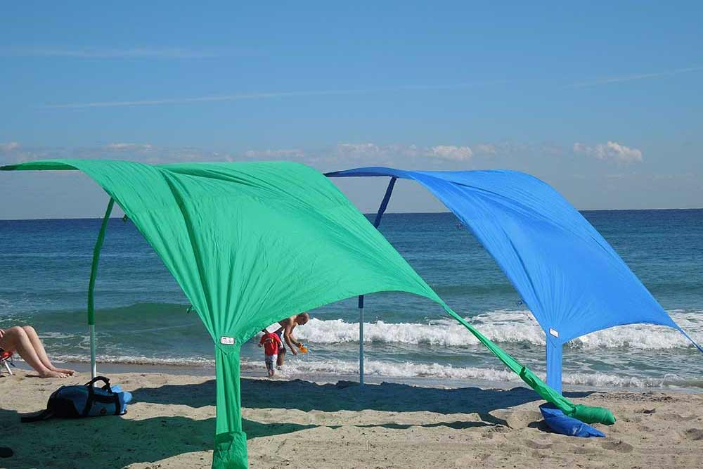 Throw away your crappy beach umbrella and get some real SHADE!